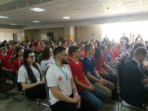 В Смоленске состоялась встреча Алексея Островского с юнармейцами