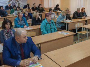 Смоленские полицейские приняли участие в родительском собрании