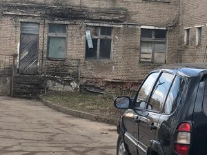 Смоленские активисты ОНФ призвали власти отремонтировать здание больницы в поселке Верхнеднепровский