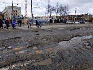Смоленск попал… в ТОП городов с благополучными дорогами
