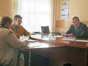 Андрей Борисов провел первый личный прием граждан