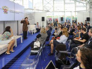 На Московском международном салоне образования ММСО-2019 образовательный интегратор «Просвещение» представил продукты и сервисы, разработанные для национальных проектов «Образование» и «Цифровая экономика»