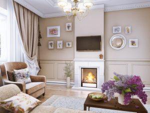 Оформляем гостиную в стиле прованс