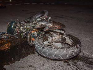 Под Смоленском женщина за рулём иномарки сбила мотоциклиста