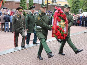 В Смоленске прошел митинг, посвященный 74-летию Победы