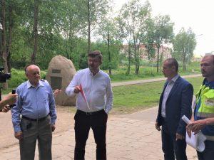 Под Смоленском стартовал второй этап реконструкции парка Солнцева