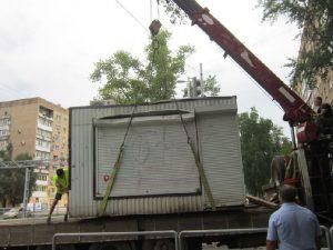 В Смоленске нашли очередной незаконный ларек