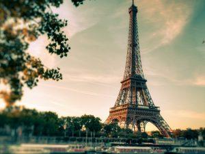 Париж поздней осенью