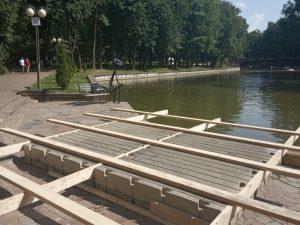 В Смоленске готовятся к запуску музыкального проекта на плавучей сцене