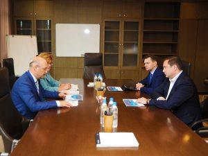 Алексей Островский встретился с президентом – председателем правления банка «Открытие» Михаилом Задорновым