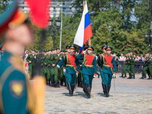 Призывники из Смоленской области стали новобранцами Преображенского и Семеновского полков