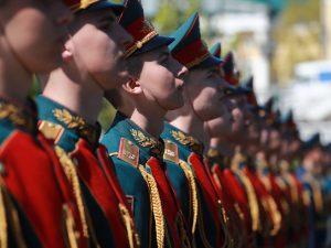 Смоляне-новобранцы Преображенского полка приняли военную присягу