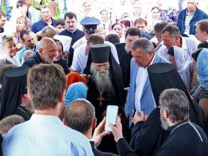 Смоленскую область посетил духовник Патриарха