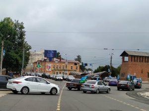 В Смоленске стартовал автопробег в День воздушно-десантных войск