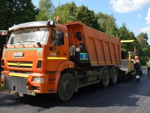 «Смоленскавтодор» начал ремонт дороги в Руднянском районе