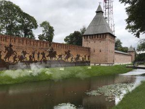 В Администрации города обсудили дизайн-проекты благоустройства Смоленской крепостной стены