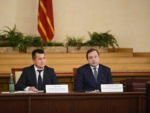 Алексей Островский призвал Общественную палату контролировать исполнение нацпроектов в районах Смоленской области