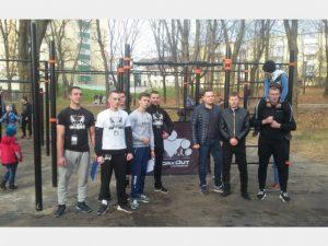 В Смоленске появилась площадка для воркаута