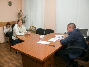 Андрей Борисов провел прием граждан