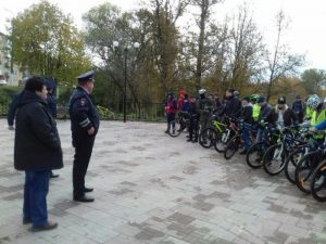 В Вязьме состоялся осенний велопробег