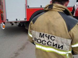 Жилой дом загорелся в Вязьме на улице Декабристов