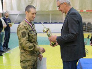 Смоленские Росгвардейцы выиграли первенство по гиревому спорту