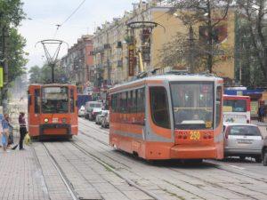 В Смоленске будет прекращено движение трамваев на «Полиграфкомбинат»