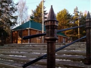 «Крепостные башни» появились в одном из смоленских скверов