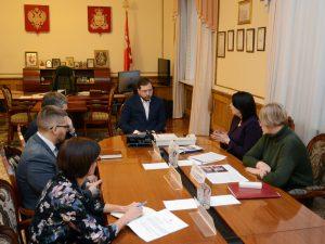 В Смоленской области обсудили вопросы развития Российского движения школьников в регионе