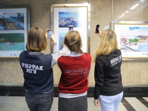 Смоленский государственный университет выступил организатором выставки в московском метро