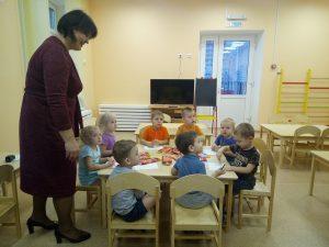 Новый детский сад в Алтуховке Смоленского района распахнул двери для малышей