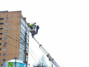 На каких улицах Смоленска на этой неделе установят новые фонари