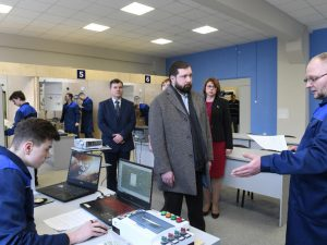 В Смоленске появилось пять современных мастерских на базе строительного колледжа