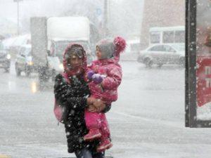 На Смоленщине ожидается хаос: дождь, морось, мокрый снег, гололёд