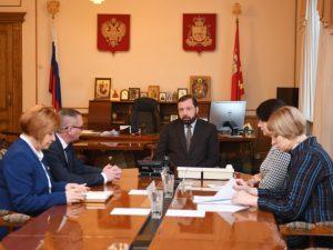 В Смоленске обсудили перспективы использования оздоровительного лагеря «Орленок»
