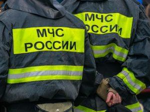 Частный дом горел в деревне Сафоновского района