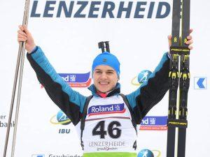 Золотая медаль смоленского биатлониста