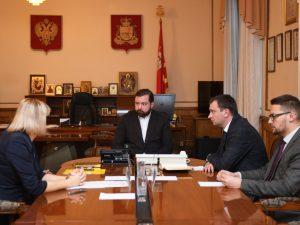 В администрации региона обсудили капитальный ремонт дорог Смоленска
