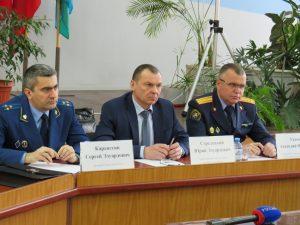 В Рославле правоохранители провели совместный прием граждан