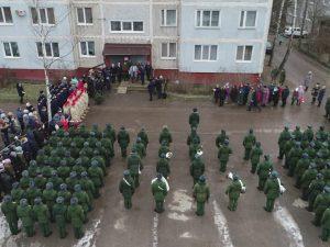В Смоленской области курсанты зенитчики проведут очередной парад для ветерана