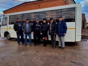 В Гагаринском районе обсудили безопасность пассажирских перевозок