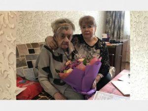 Жительница Смоленска отметила 100-летний юбилей
