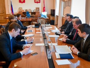 Президент «Ростелекома» обсудил с губернатором Смоленской области вопросы цифровизации региона