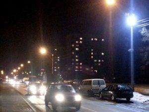 Предотвращение аварий на дорогах с помощью хорошего освещения