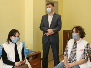 В Смоленской области участники кадрового проекта «ПолитСтартап» стали волонтёрами