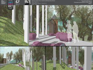Дизайнеры предложили обозначить утерянные башни Смоленской крепости в стиле минимализма