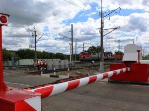 В Смоленской области проводят ремонтные работы на железнодорожных переездах