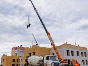В Смоленске строительство детсада на Королёвке идёт с отставанием графика на месяц