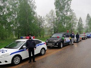 В Сафонове состоялся автопробег «За безопасное детство»