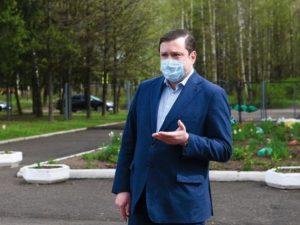 Алексей Островский поздравил жителей Вязьмы с Днем города